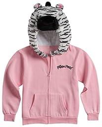 Pillow Pets Authentic Pink Zebra Sweatshirt- Medium