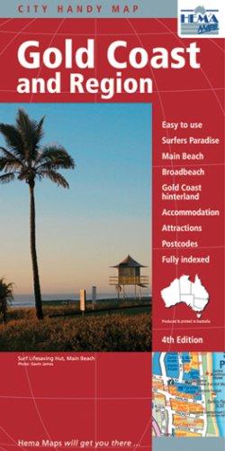 Gold Coast, QLD & Region (Australian State Maps)