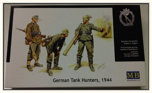 Buy Low Price Dragon Models 1/35 German Anti-Tank Group (1944) – 3 Figures (B002WGHYIQ)