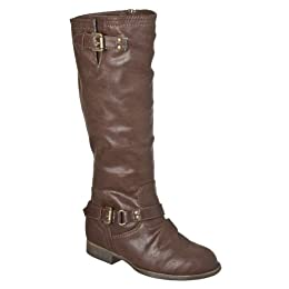 Product Image Girls' Xhilaration® Hearthstone Riding Boots - Brown