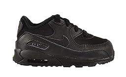 Nike Air Max 90 (TD) Baby Toddlers Shoes Black/Dark Grey 408110-091 (5 M US)