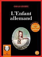 L'Enfant allemand: Livre audio 2 CD MP3 - 553 Mo + 574 Mo