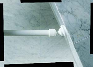 Spirella wallquick support pour tringle de rideau de for Support pour rideau de douche