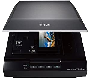 Epson Perfection V550 Photo Scanner with ReadyScan LED Technology