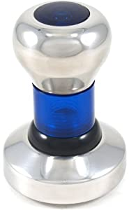 Blue 58 Mm Espresso Tamper Stainless Steel Coffee