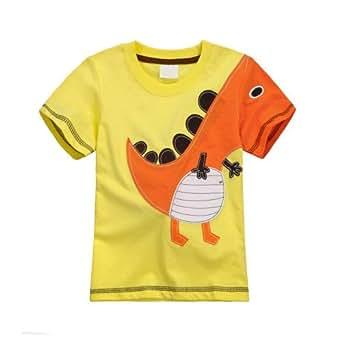 Amazon.com: IGO. Little Boys' Dinosaur Cotton T-shirt E1003 (4T