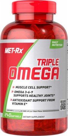 Met-Rx Triple Omega 3-6-9, Softgels 240 ea