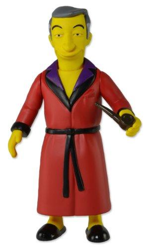 "NECA The Simpsons 25th Anniversary - Series 1 - Hugh Hefner Action Figure, 5"" - 1"