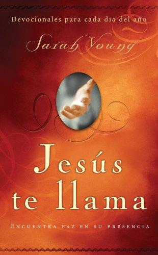 Portada del libro Jesús te llama de Sarah Young