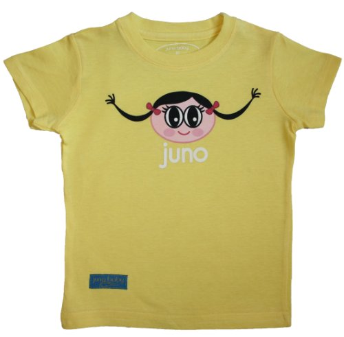 Juno T-Shirt - Sunshine Yellow  (Size 5T) - 1