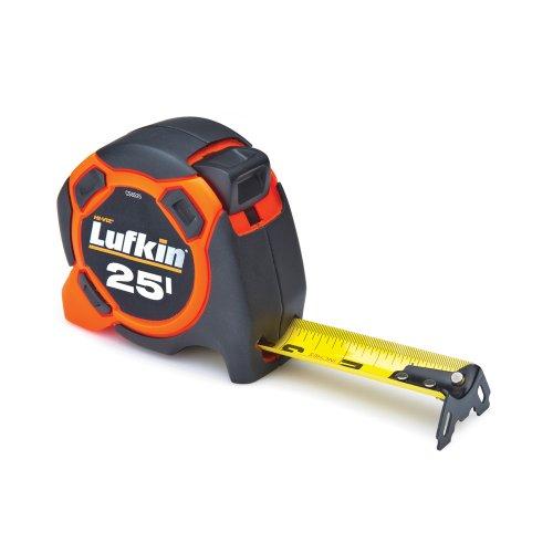 Lufkin CS8525 Control Series Power Tape, 1-3/16-Inch by 25-Feet, Orange/Black