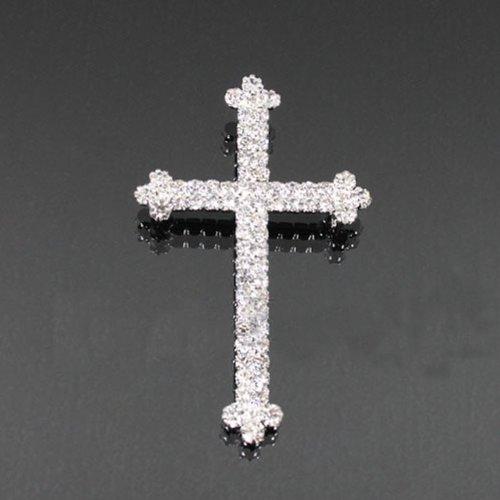 Cross Rhinestone Fashion Brooch Bh6091-bc100