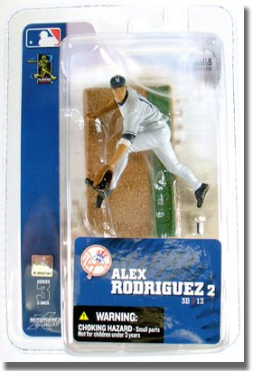 Buy Low Price McFarlane MLB Sports Picks 3-Inch Series 3 Alex Rodriguez Action Figure (B000RUH6IM)