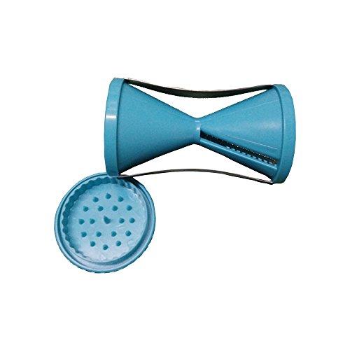 sufely® Reibe, Edelstahl Schraube Schnitt Gerät & # xff1b; Multifunktions Reibe & # xff1b; Shred Trichter Gerät & # xff1b; Geschirr. blau