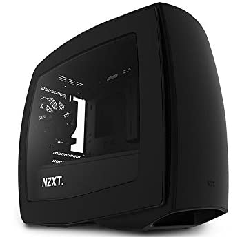 NZXT Mini-ITXケース MANTA [ オールブラックモデル ] Manta-BB