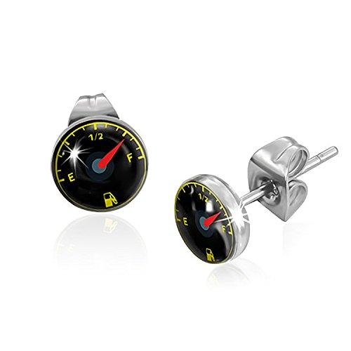 7mm-stainless-steel-fuel-gauge-circle-pair-of-stud-earrings-k128