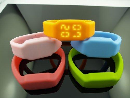 Vtec 4GB Pink Rubber Wrist Band Watch