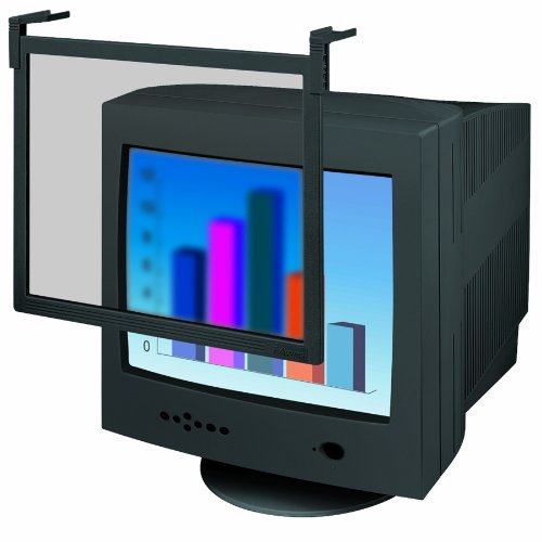 Fellowes Standard Screen Filter for 16/17-Inch CRT and 17-Inch LCD Monitors, Black Frame (93785)