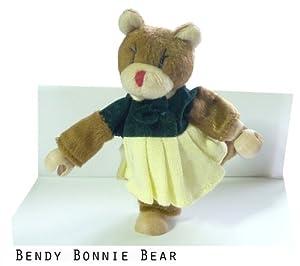 Fun Toys (Bendy Bonnie Bear) Bendy & Flexible Wooden Toy