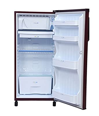 Kelvinator 190 ltr Single Door KW203EMH-FDA/KW203EBR-FDA Direct Cool Refrigerator