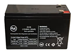 B&B BP8-12 12V 8Ah UPS Battery : Replacement