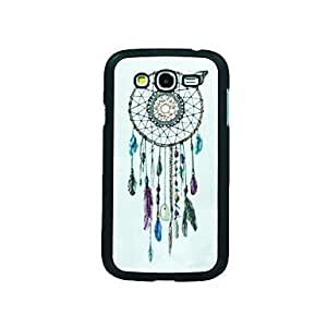 Dream Catcher Leather Vein Pattern Hard Case for Samsung Galaxy Grand Duos i9082