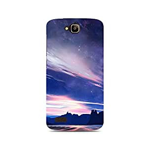 TAZindia Printed Hard Back Case Cover For Huawei Honor 4C