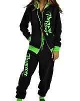 CBKTTRADE Damen Sportanzug Boxusa Jogginganzug Thepower Design Jogger Hoodie Jacke (SlimFit)
