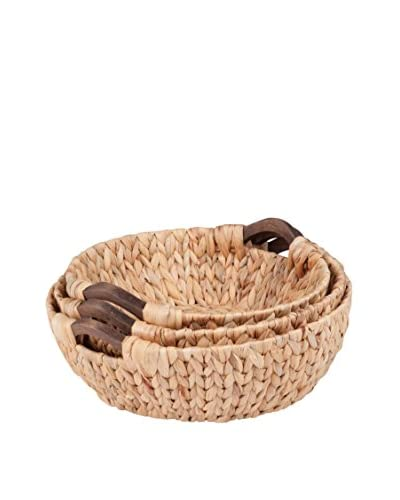 Honey-Can-Do Set of 3 Round Nesting Baskets