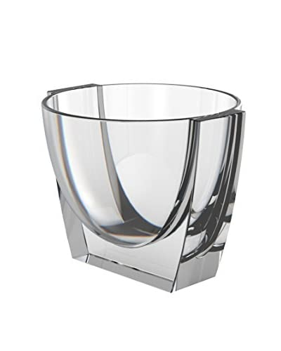 Nambe Crystal Klasp 24-Oz. Ice Bucket, Clear
