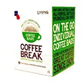 Lyons Coffee Break One Cup Coffee Bags (18 x 7g Sachets)