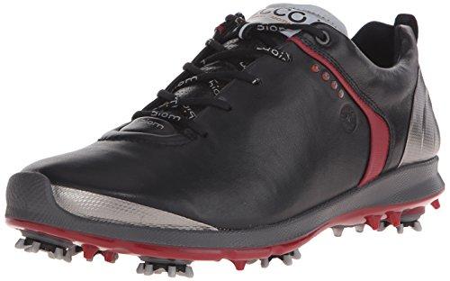 Ecco Biom G2Herren Golf-Schuhe 42 schwarz/silberfarben
