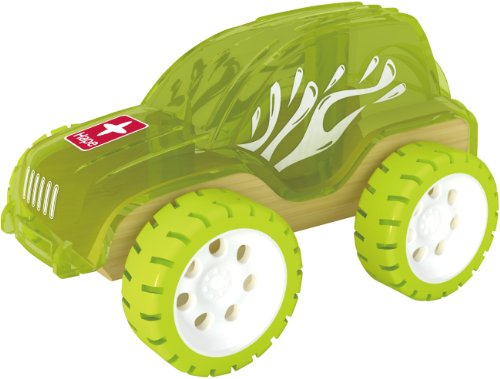 Hape Bamboo Mighty Mini Trailblazer Toy Car