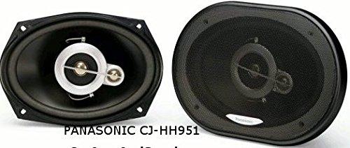 "Panasonic Cj-Hh951 6X9"" (15X23Cm) Coaxial 3-Way Speaker Pair"