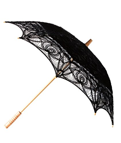 The 1 for Vintage Batternburg Lace Parasol 8 Colors 0