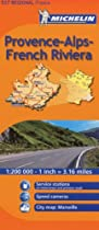 Michelin Map Provence-Alpes-Cote d'Azur, France (Michelin Maps)