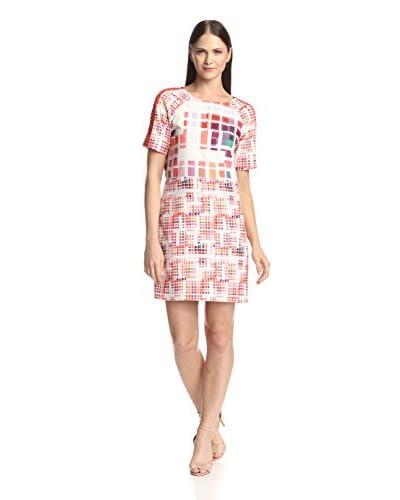 Badgley Mischka Women's Embellished Sleeve Dress