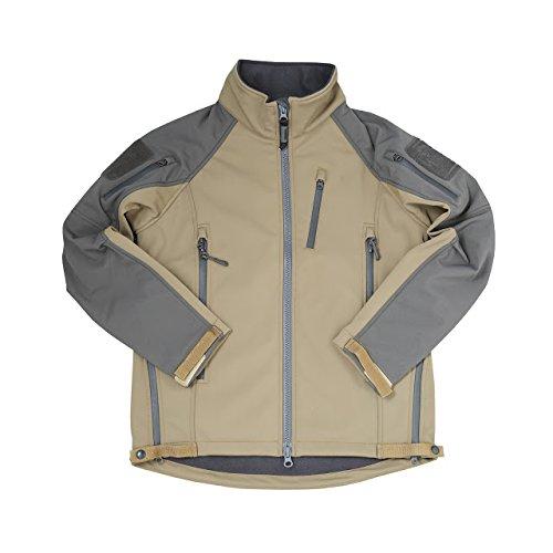 (マグフォース)MAGFORCE Street Walker Softshell JKT ストリート ウォーカー ソフトシェル ジャケット C-1004 XS TAN/SmokyGrey