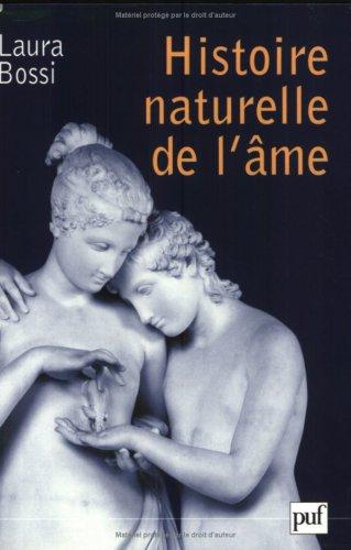 Histoire naturelle de l'âme - laura Bossi