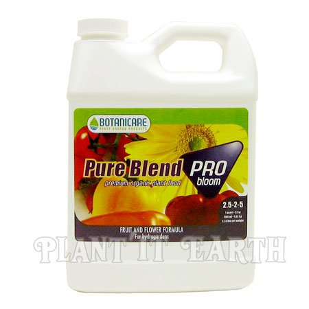 Buy Botanicare Pure Blend Pro Bloom 1 Quart