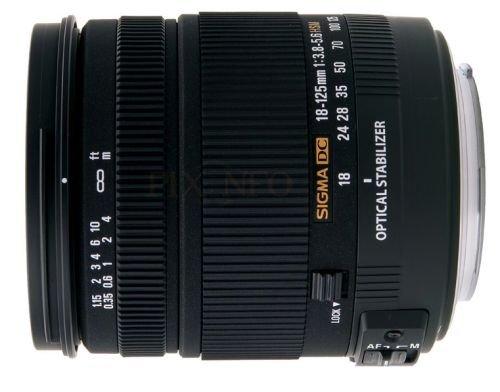 Sigma 18-125mm 3,8-5,6 DC OS HSM Objektiv für Canon