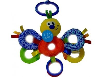 Infantino Busybug Baby Link-Along Teether Pal front-779306