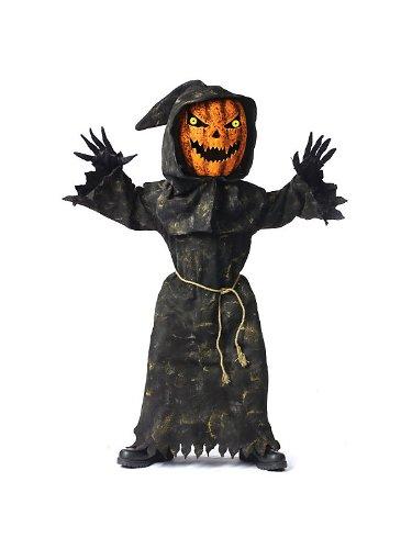 Bobble Head Pumpkin Costume - Large
