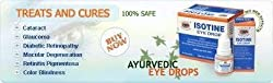 Isotine Eyedrops 6 Vial Pack (Herbal) First Time In World