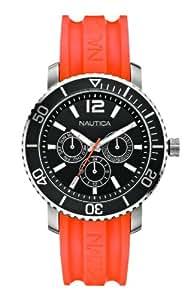 Nautica Unisex-Armbanduhr Analog Quarz Kautschuk A16642G