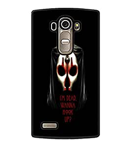 PrintDhaba Quote D-3766 Back Case Cover for LG G4 (Multi-Coloured)