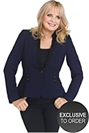 Twiggy for M&S Woman Cornelli Military Blazer