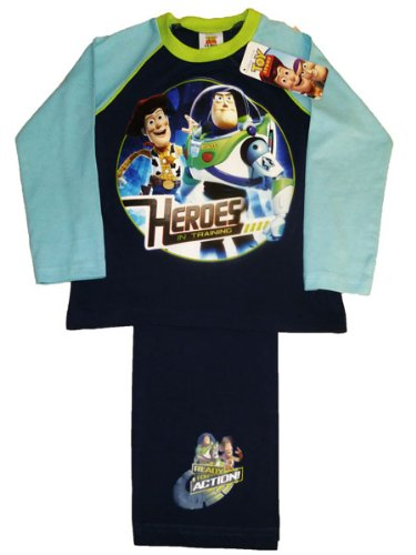 ThePyjamaFactory Disney Toy Story Heroes Long Pyjamas