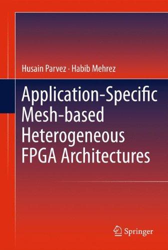 Application-Specific Mesh-based Heterogeneous FPGA Architectures