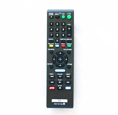 OEM RMT-B119A New Remote Fit for Sony Rmtb119a Blu-ray Player Replace Remote Control Bdp-bx59 Bdp-s390 Bdp-s590 Bdp-bx110 Bdp-s1100 Bdp-s3100 Bdp-bx310 (Dvd Player Remote Control compare prices)